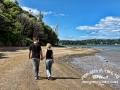 Caitlin-&-Blake-Walking-On-Beach LR CR