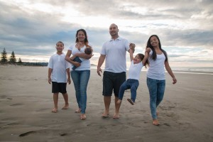 Shakiel's-Family-Walking-on-Beach-(OFW)