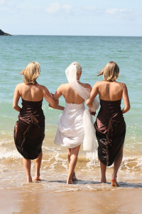 DTG Amy & Bridesmaids Heading Into the Sea LR
